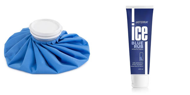 ice packs and gel
